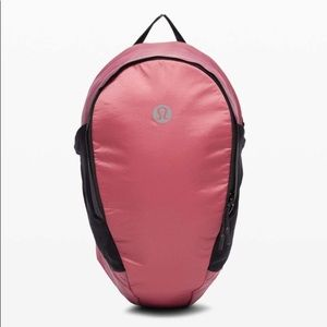 Lululemon Fast and Free Backpack *13L: Cherry Tint